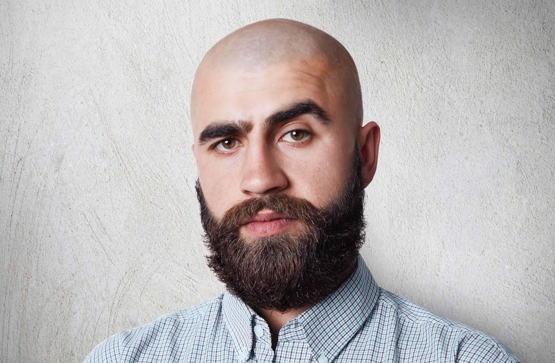 Men bald most handsome 25 Famous
